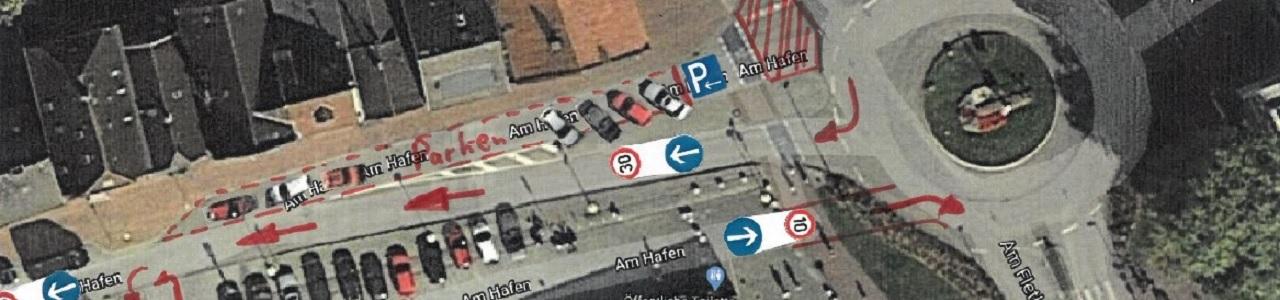 Kreisverkehr Hafen